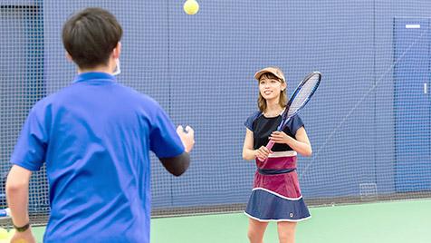 テニスコーチメニュー