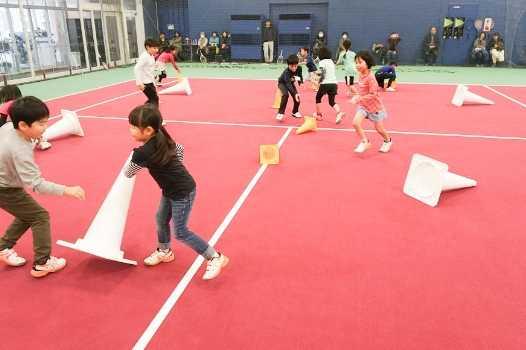 テニス&コーディネーショントレーニングで楽しくがんばれる!
