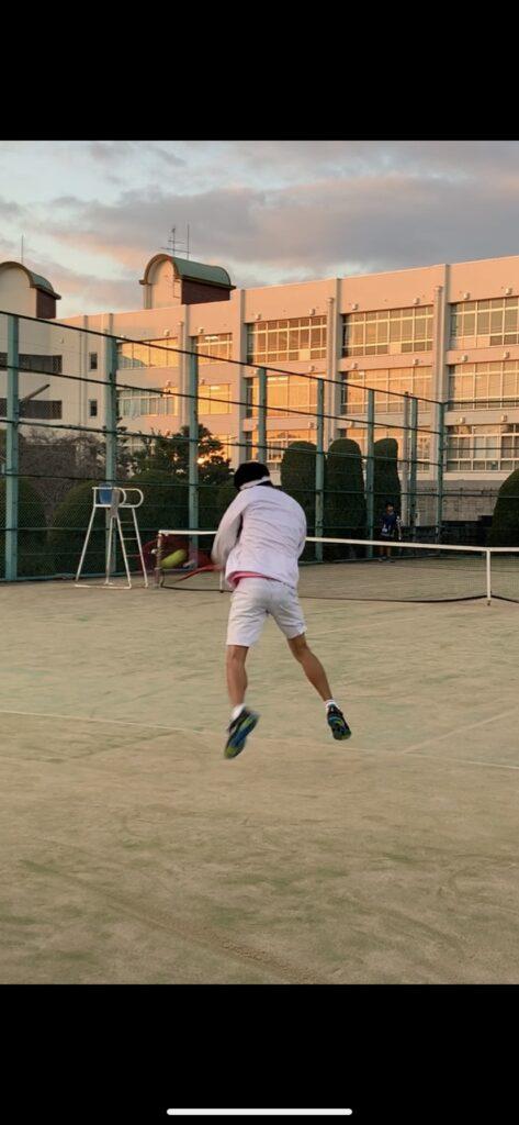 母校へ…🏫⑧【テニス:後藤】