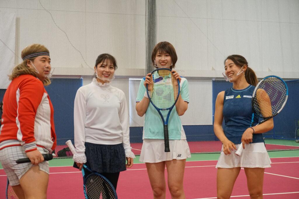 「あかりんとテニスで遊ぼう~美女と野獣のテニスクリニック~」レポート🕵②