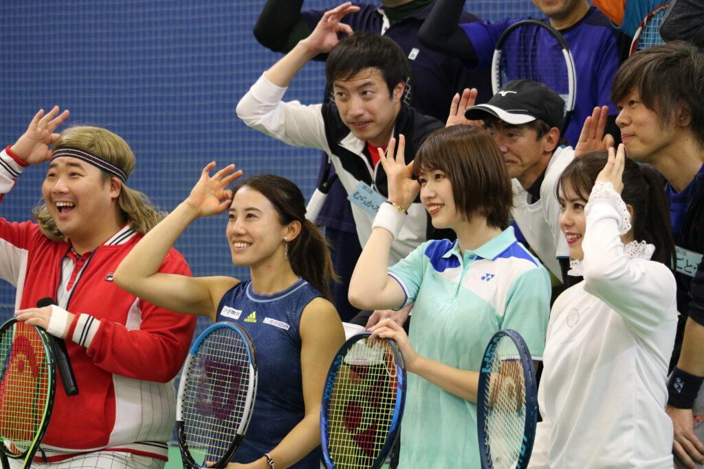 「あかりんとテニスで遊ぼう~美女と野獣のテニスクリニック~」レポート🕵③
